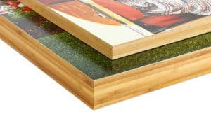 """3/4"""" Bamboo Panel Ready-to-Hang Standout Mount"""