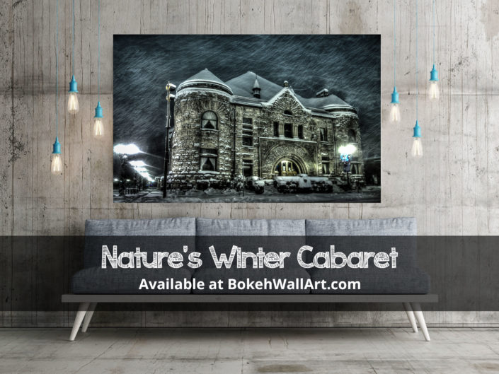 Nature's Winter Cabaret | Available at BokehWallArt.com
